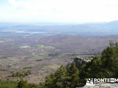 Navarredonda - San Mamés y Embalse de Riosequillo - senderistas; clubes de montaña madrid